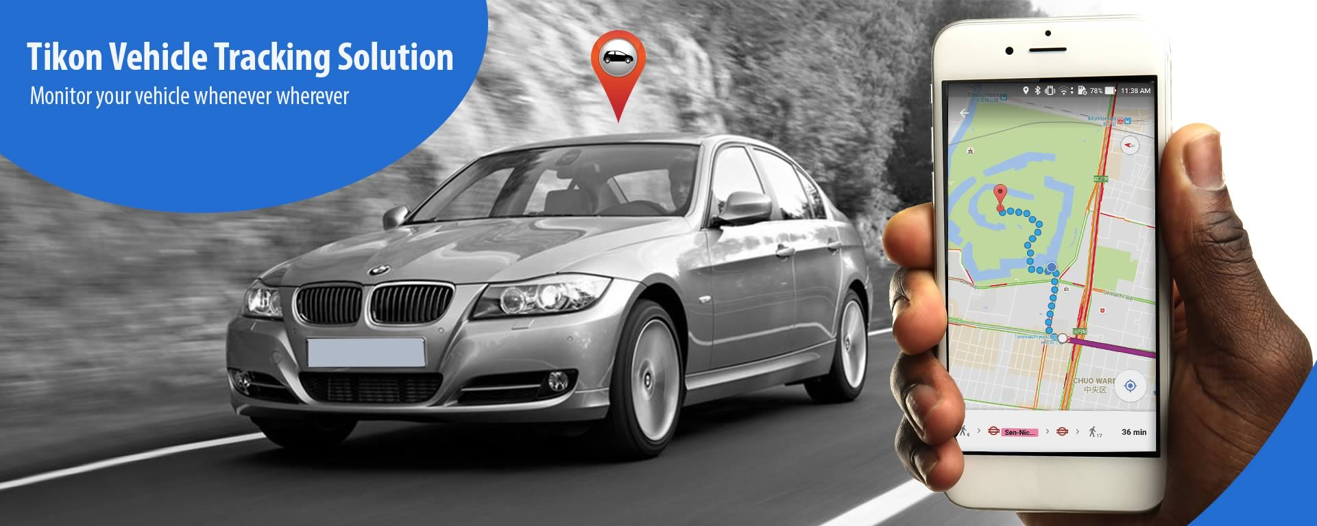 Tikon Vehicle Tracking Solution